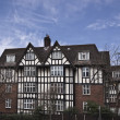 Tudor style building in London — Stock Photo