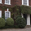 English style house in London — Stock Photo
