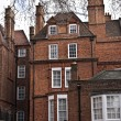 Georgian style building in London - Foto Stock
