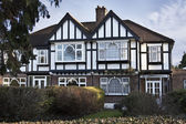 Tudor style house in London — Stock Photo