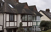 English style houses in London — Stock Photo