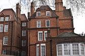 Georgian style building in London — Stock Photo
