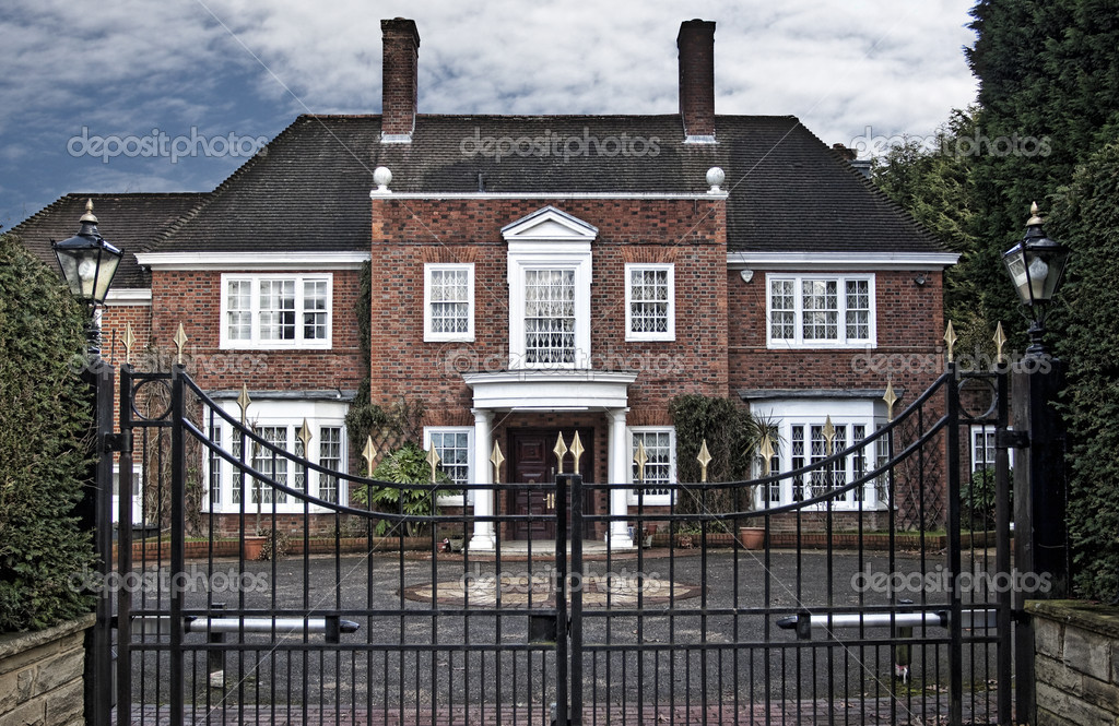 Maison de style anglais londres photographie for Maison de style anglais