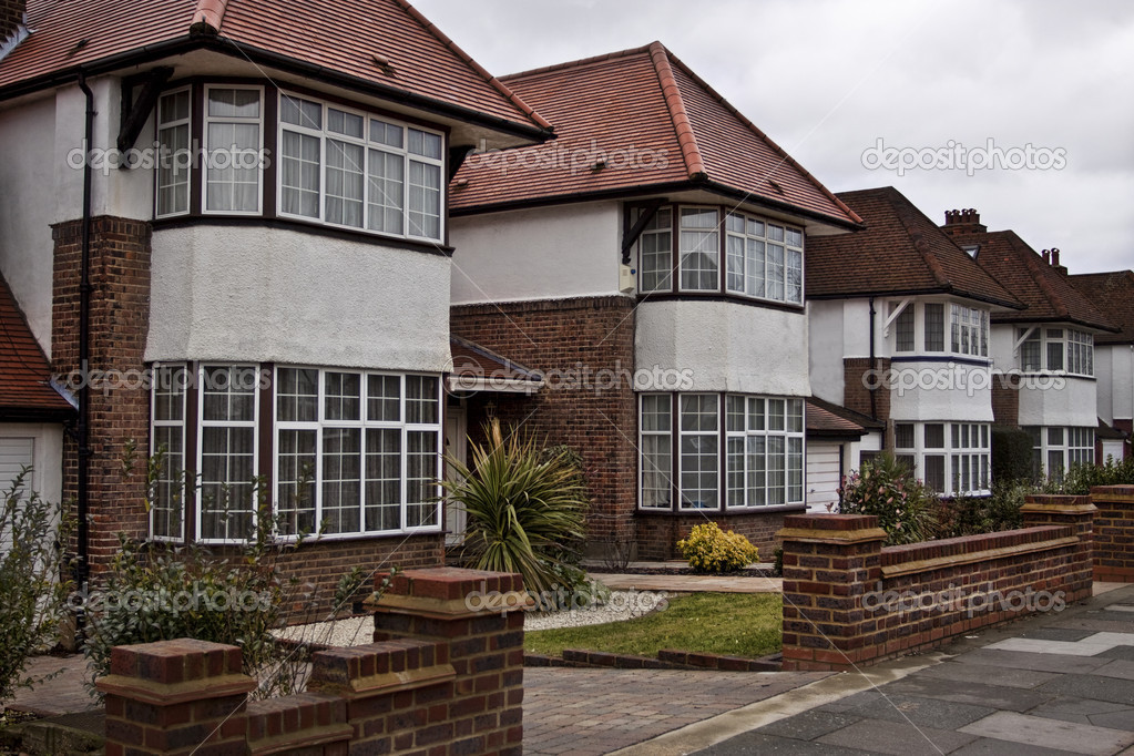 English Style Houses In London Stock Photo Avella2011