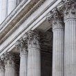 St. Paul's Cathedral - West Porch — Stock Photo