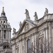 St. Paul&#039;s Cathedral from the south - Stock Photo