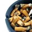 Cigarette butts  — 图库照片