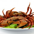 Royalty-Free Stock Photo: Cooked crabs