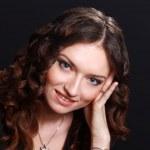 Portrait d'une jeune femme calme — Photo #5081969