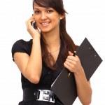 The beautiful business woman — Stock Photo #5312054