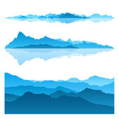 Blue Mountains — Stock Vector