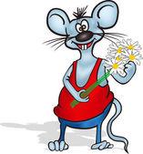 Mouse Men — Stock Vector