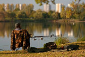 Рыболов — Стоковое фото
