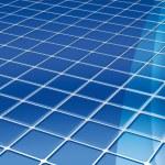 Blue tiles floor — Stock Photo #4902288