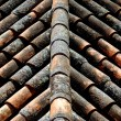 Tiles on the roof — Stock Photo
