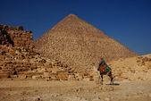 Egypt pyramid — Stock Photo