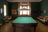 Old pool table — Stock Photo