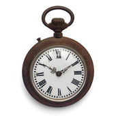 Pocket watch (isolated with clipping path) — Stock Photo