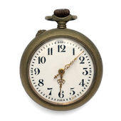 Pocket watch (isolated with clipping path) — Stockfoto