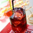 Red drink — Stock Photo #4876527