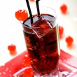 Red drink - Stock Photo