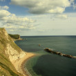 Jurassic coastline — Stock Photo