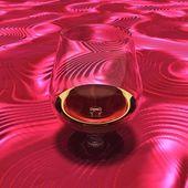 Una copa de vino — Foto de Stock