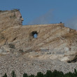 Crazy Horse Memorial Carved into Mountain — Stock Photo