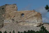Crazy Horse Memorial Carved into Mountain — Stock Photo