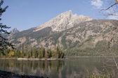Jenny lake, Grand Teton National Park — Stock Photo