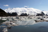 Portage Glacier Lake, Alaska, USA — Stock Photo