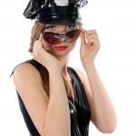 Женщина полицейский — Zdjęcie stockowe #4893465