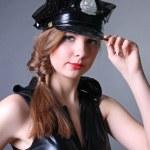 Женщина полицейский — Zdjęcie stockowe #4893522