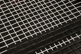 Tennis racket texture — Stock Photo