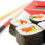 Японские роллы. Маки суши. — Stock Photo #5306860