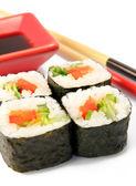 Японские роллы. Маки суши. — Stock Photo
