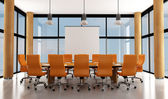 Modern meeting room — Stock Photo