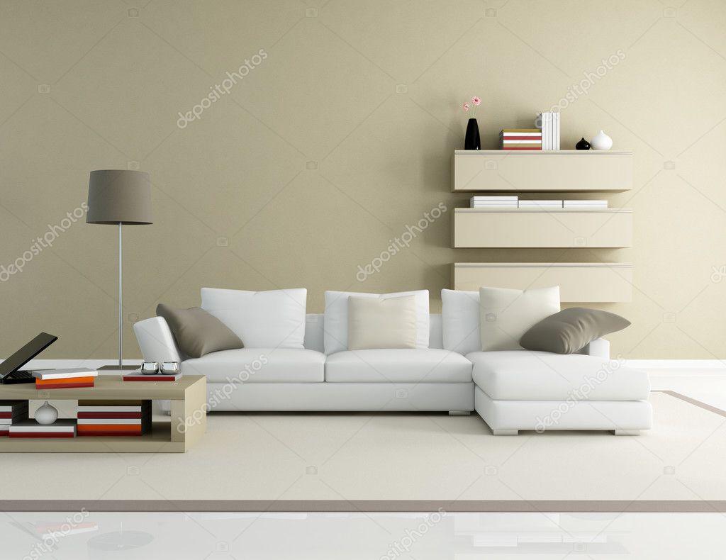 Moderne woonkamer — stockfoto © archideaphoto #4880652