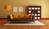 Modern elegant livingroom — Stock Photo