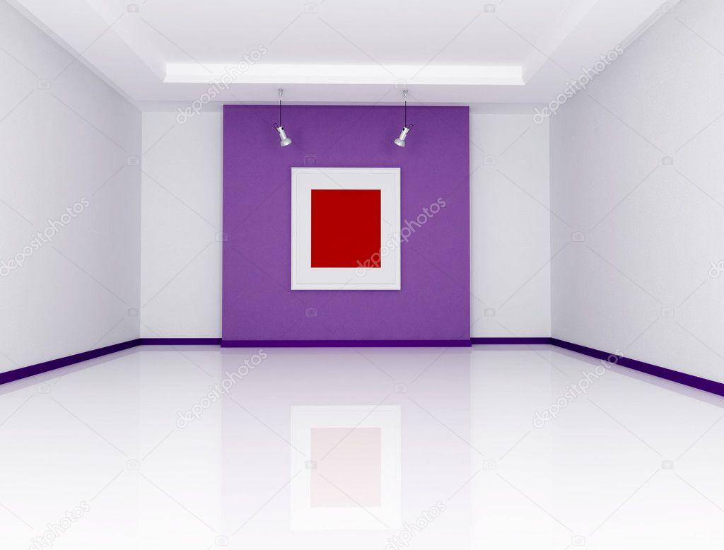 Minimalist art gallery stock photo archideaphoto 4892552 for Minimal art gallery london