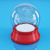 Empty snow globe — Stock Photo