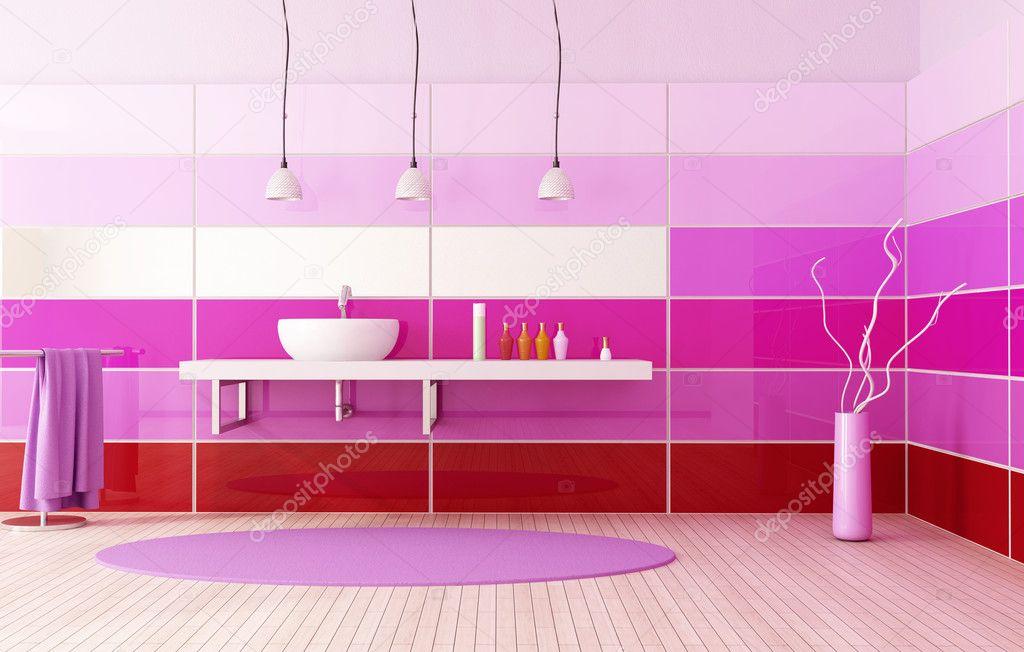 Bright colored bath stock photo archideaphoto 4946650 for Bathroom designs gauteng