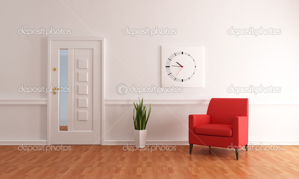Foyer Minimalist Er : Minimalist home entry foyer — stock photo archideaphoto