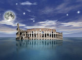 Surrealist colosseum — Stock Photo