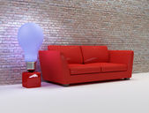 Design living room — Stock Photo