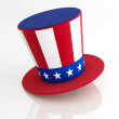Uncle Sam's Hat — Stock Photo
