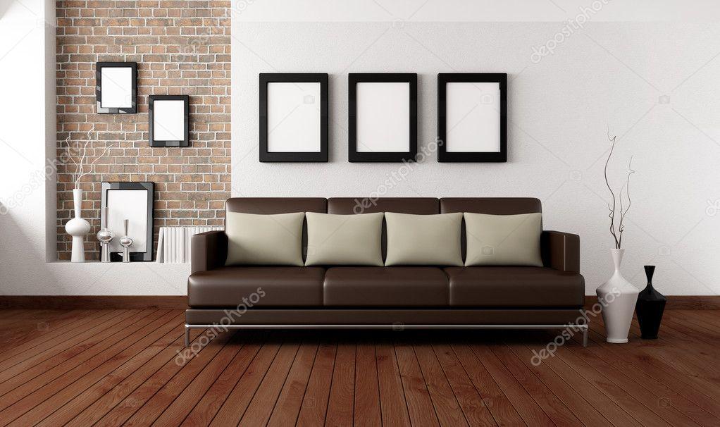 Moderne Wohnzimmer — Stockfoto © archideaphoto #5097292