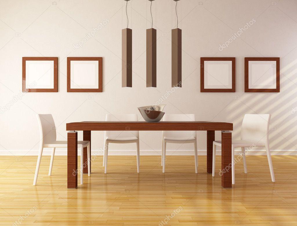 Minimalistisk matsal — stockfotografi © archideaphoto #5359336