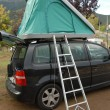 Stock Photo: Rooftop tent