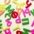 Letters of the alphabet — Stock Photo